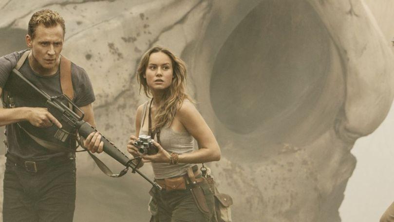 Brie Larson Hiddleston Kong Skull Island