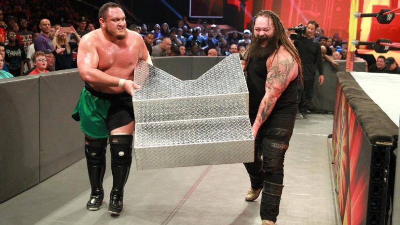 Samoa Joe Bray Wyatt