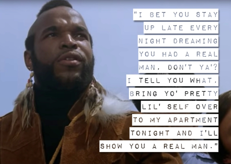 Mr T Clubber Lang Dreaming of a Real Man